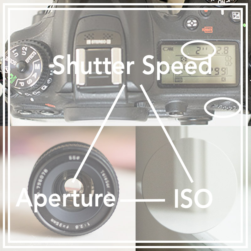 Understanding Exposure Triangle, Cristina Elisa Photography, Learn DSLR Photography with a film girl in a digital world