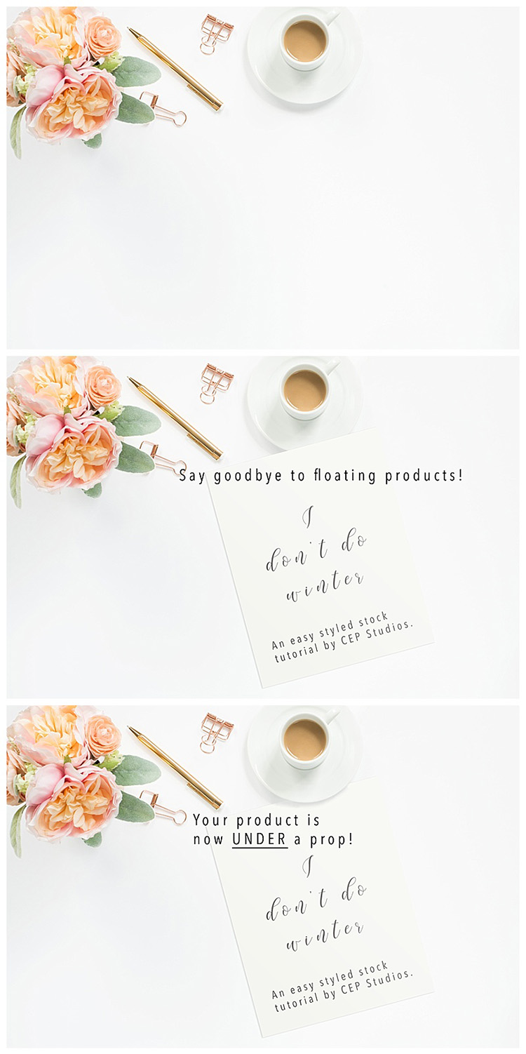 Styled stock tutorial, CEP Studios, Etsy Styled Stock Photography