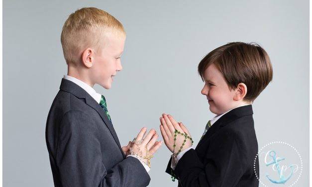 First Communion Sneak Peek for L & T | Frederick MD Child Photographer