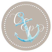 Cristina Elisa Photography LLC, Frederick MD, Anchor Dotted Logo