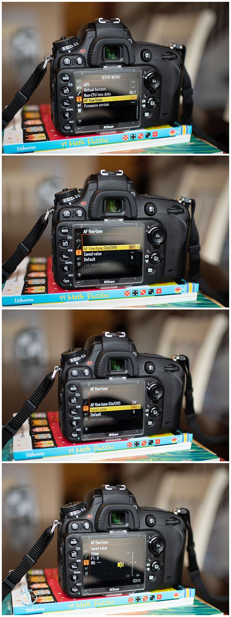 Nikon D610 Lens Calibration tutorial