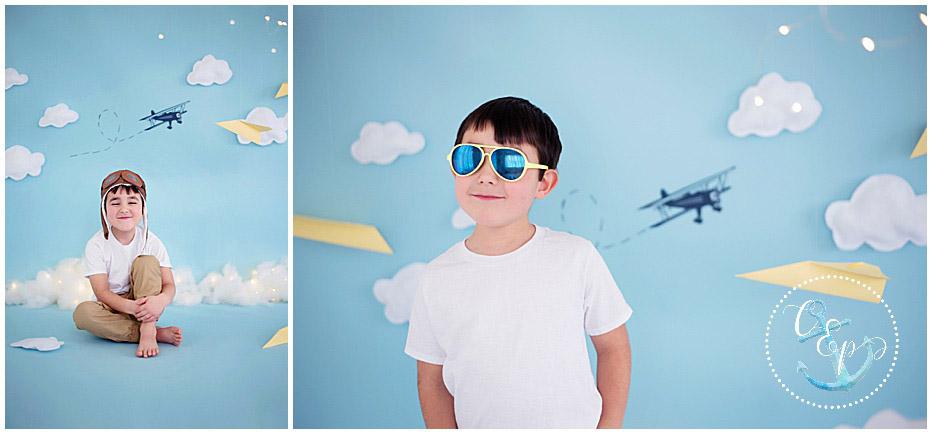 Kids Photography, Aviator Session, themed sessions Frederick Maryland child photographer, Cristina Elisa Photography llc