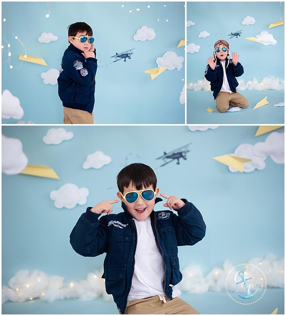 Kids Pictures, Aviator Theme, Milestone Sessions, Frederick Maryland child photographer, Cristina Elisa Photography llc
