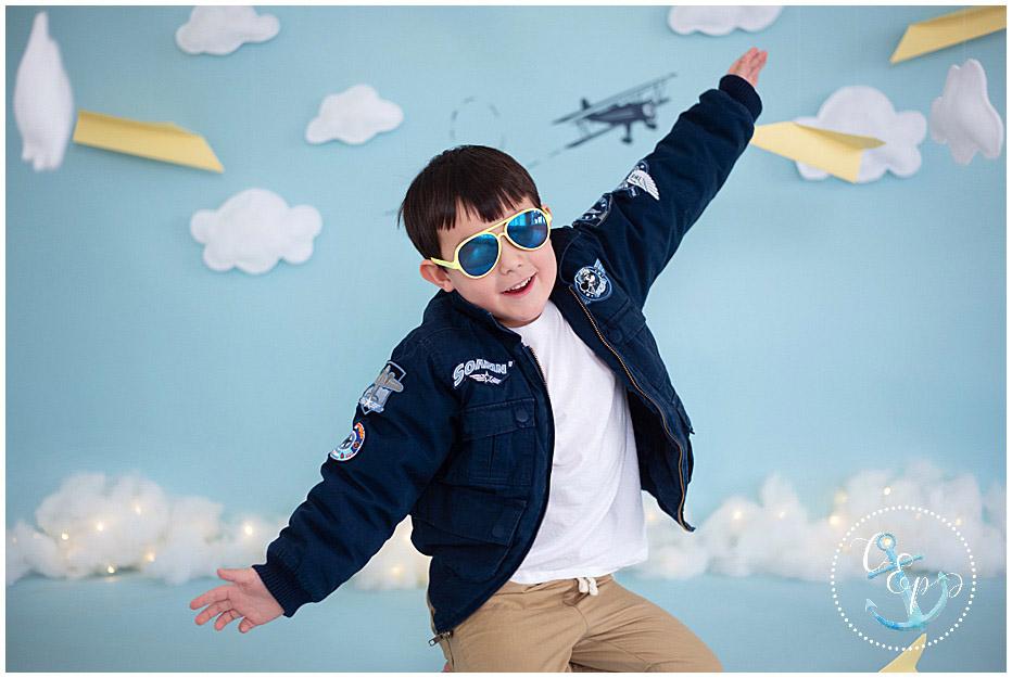Aviator Session • Maryland Child Photographer
