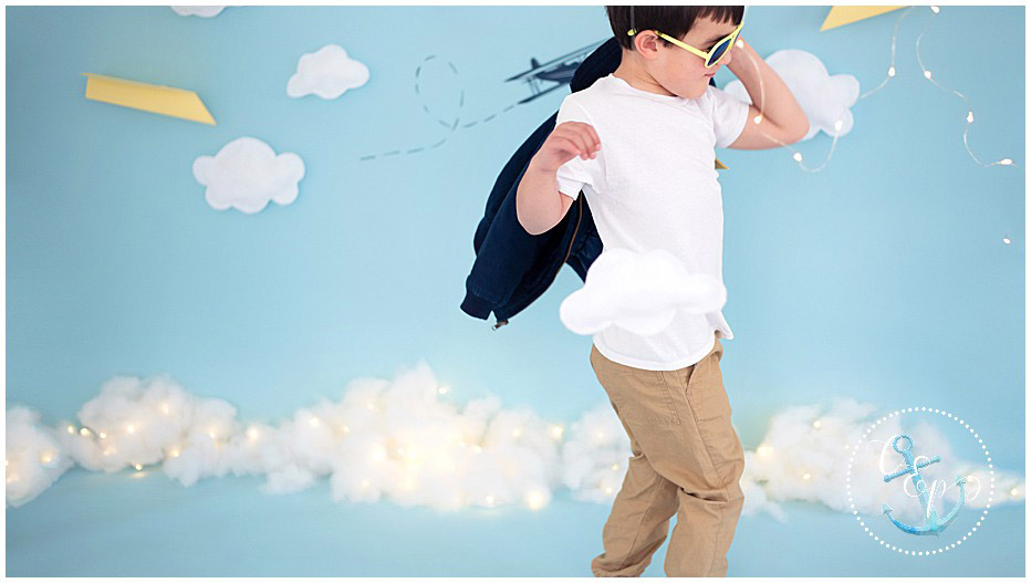 Aviator Session, Hand crafted photo sessions, themed sessions maryland child photographer, Cristina Elisa Photography llc