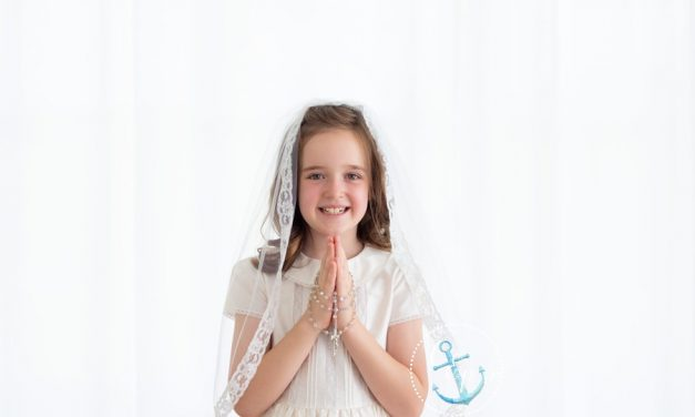A Sneak Peek of K's First Communion Portraits • Frederick MD Children's Portrait Photographer