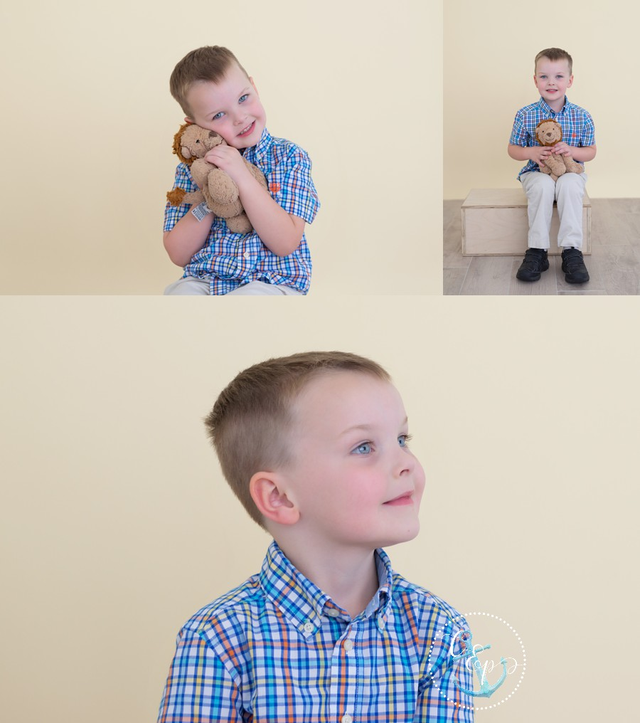 Kids portrait photographer Frederick MD, Simple studio portraits Maryland, Cristina Elisa Photography