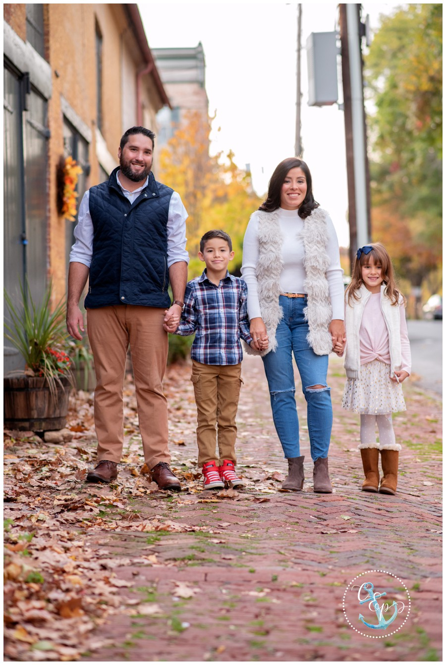 Downtown Frederick Family Photographer, Cristina Elisa Photography LLC, Frederick MD Family Pictures, Family portrait session downtown, Maryland Portrait Photographer